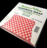 Envoltura para Sandwich-Papel Rojo