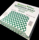 Envoltura para Sandwich-Papel Verde